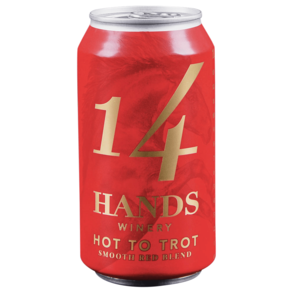 14 Hands Smooth Red Blend Hot to Trot Can 375 ml