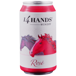 14 Hands Rose Can 375 ml