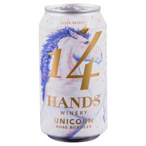 14 Hands Unicorn Bubbly Rose 375 ml (Can)