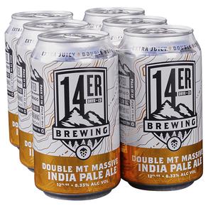 14er Double Mt Massive Double IPA 6pk 12 oz Cans