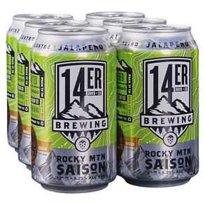 14er Rocky Mountain Saison 6pk 12 oz Cans