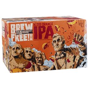 21st Amendment Blood Orange Brew Free IPA 6pk 12 oz Cans