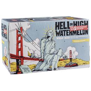 21st Amendment Hell or High Watermelon 6pk 12 oz Cans