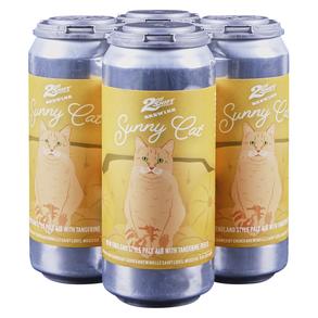 2nd Shift Sunny Cat Tangerine NEIPA 4pk 16 oz Cans