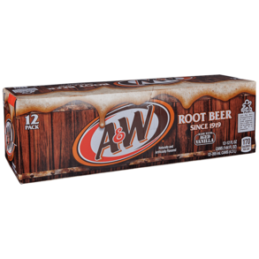 A&W Root Beer 12pk Can