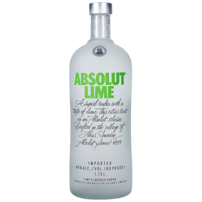 Absolut Lime Vodka 1.75 L
