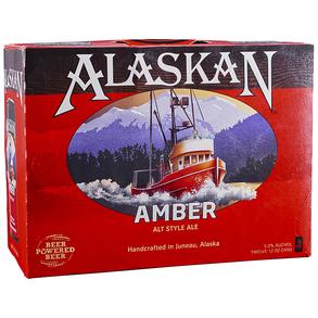 Alaskan Amber 12pk 12 oz Cans