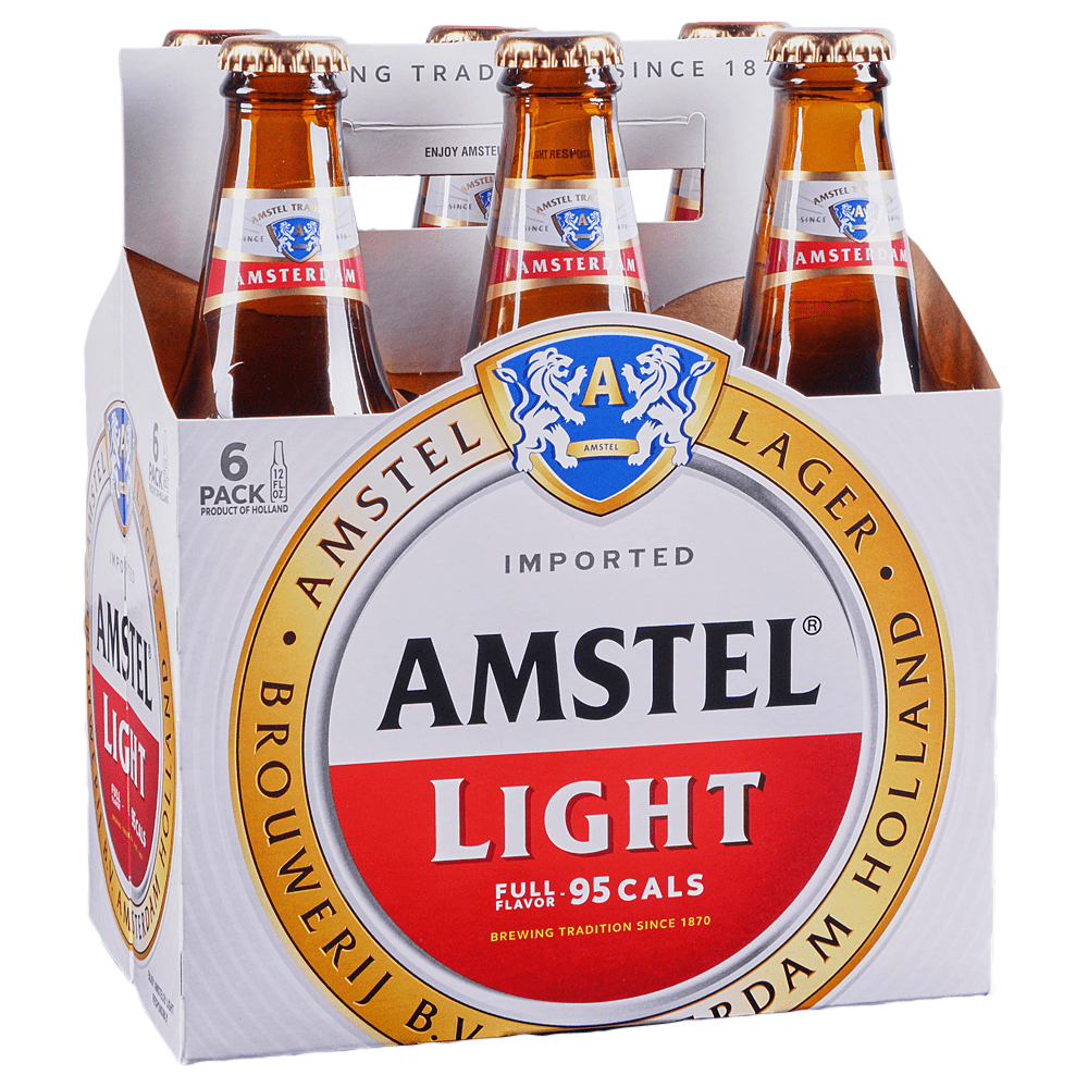 Attractive Amstel Light 6pk 12 Oz Btls Design