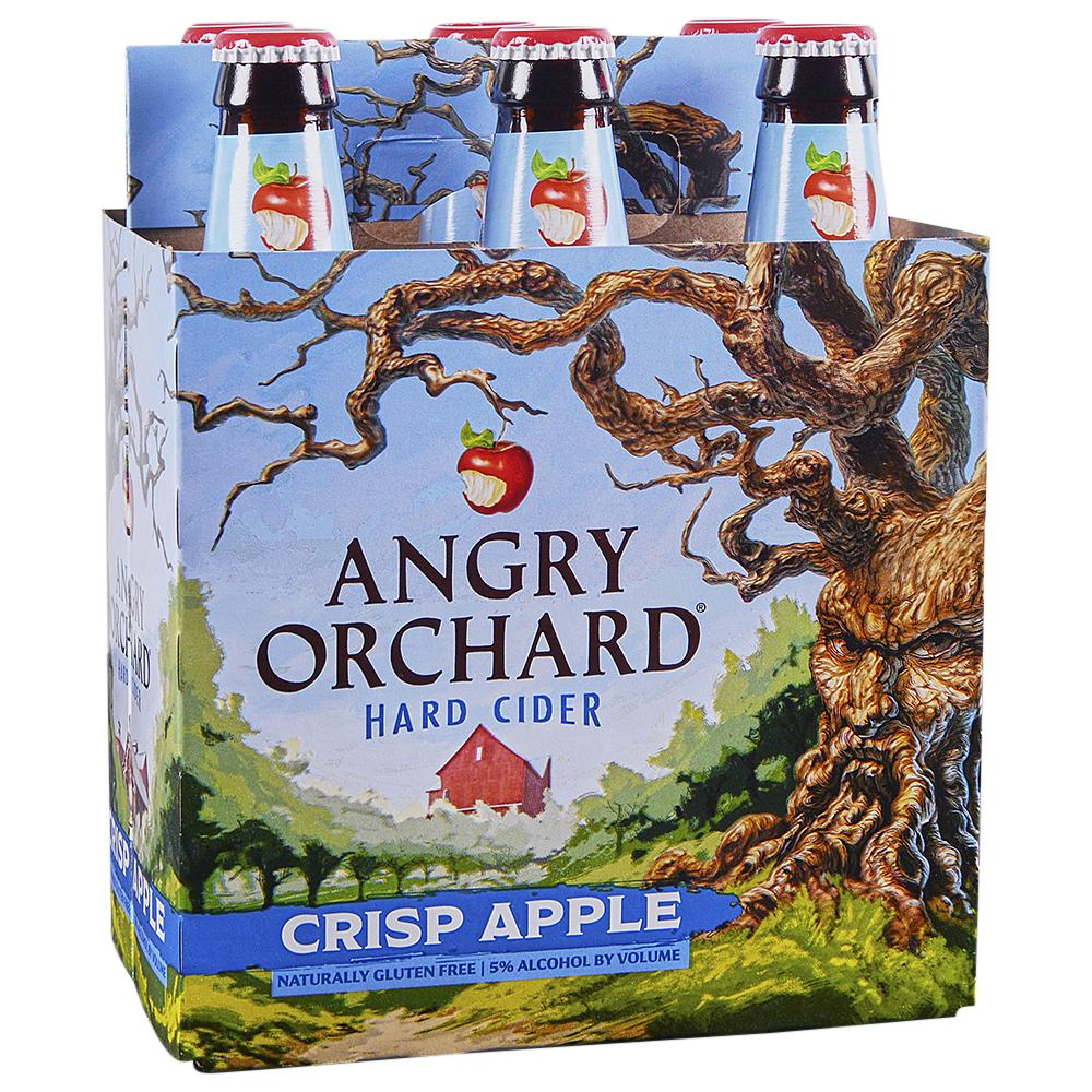 Applejack Angry Orchard Crisp Cider 6pk 12 Oz Btls
