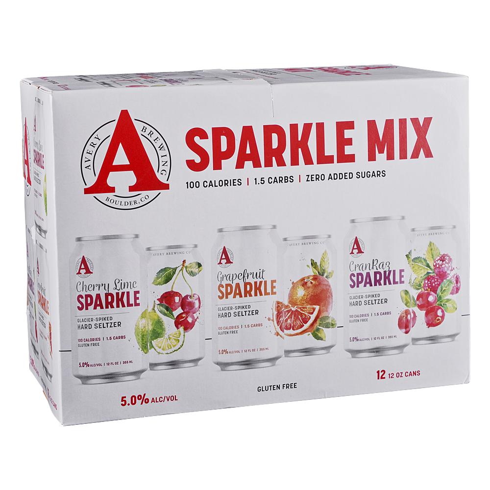 Avery Sparkle Variety 12pk 12 oz Cans
