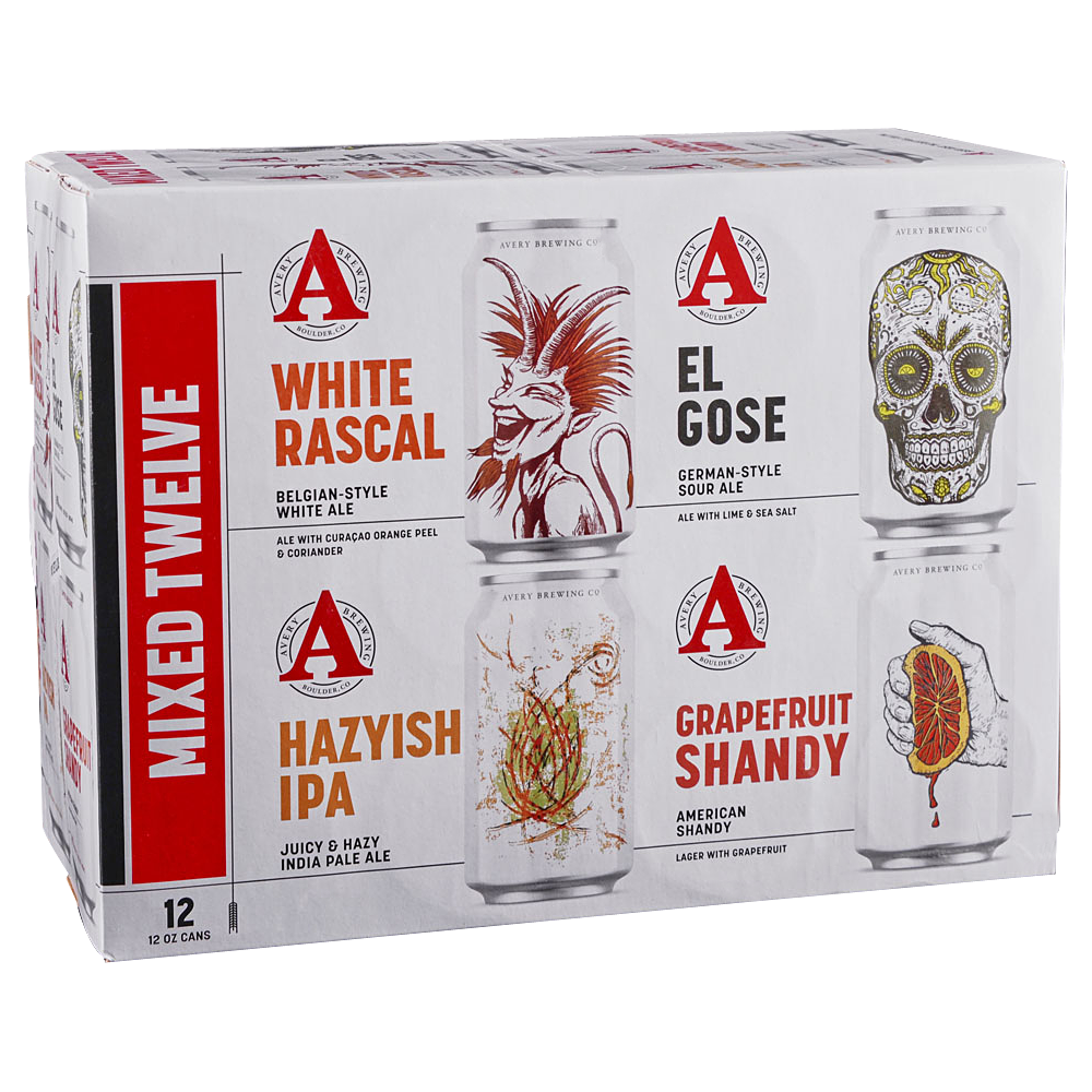 Avery Variety Pack 12pk 12 oz Cans
