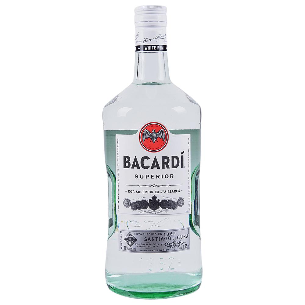 Bacardi Superior Silver Rum 1.75 l