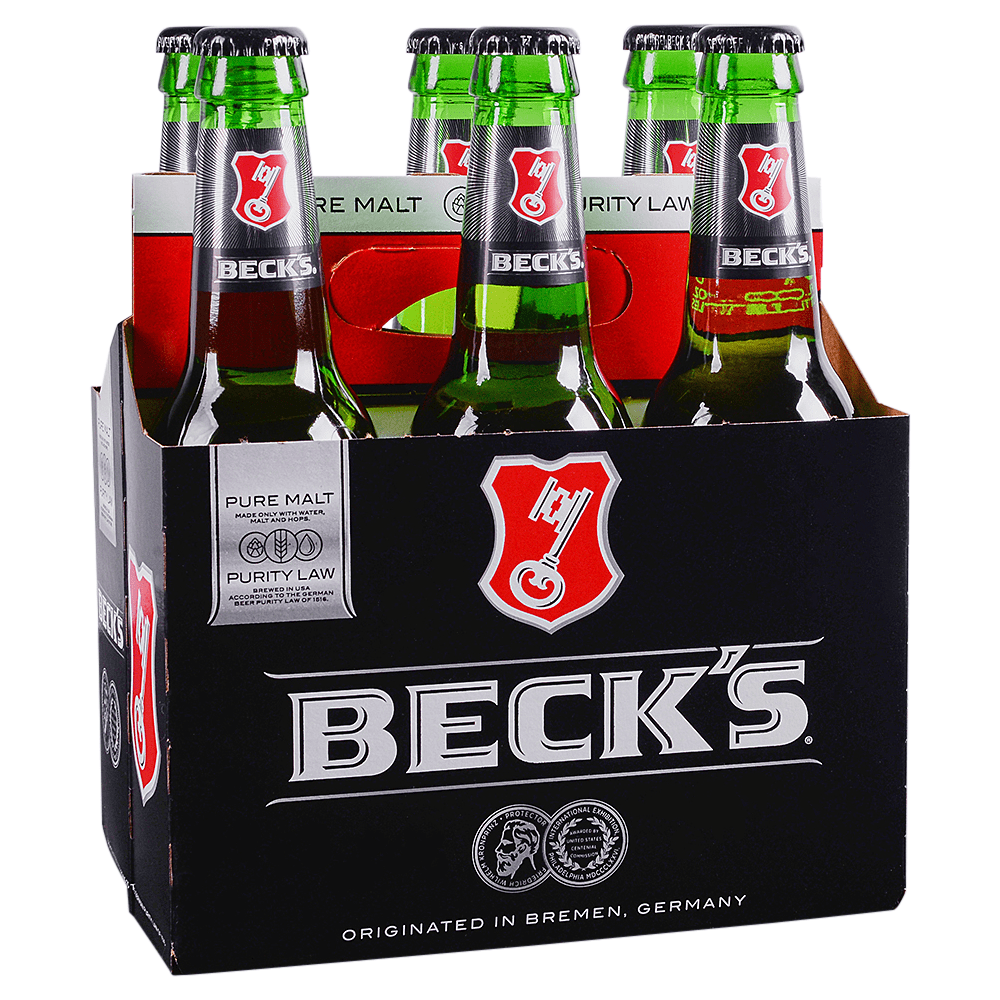 Applejack Becks 6pk 12 Oz Btls