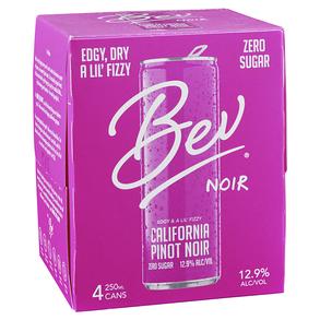 Bev Pinot Noir Can 4 pack 250 ml