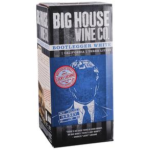 Big House Wine Co White Bootlegger Box 3.0 L