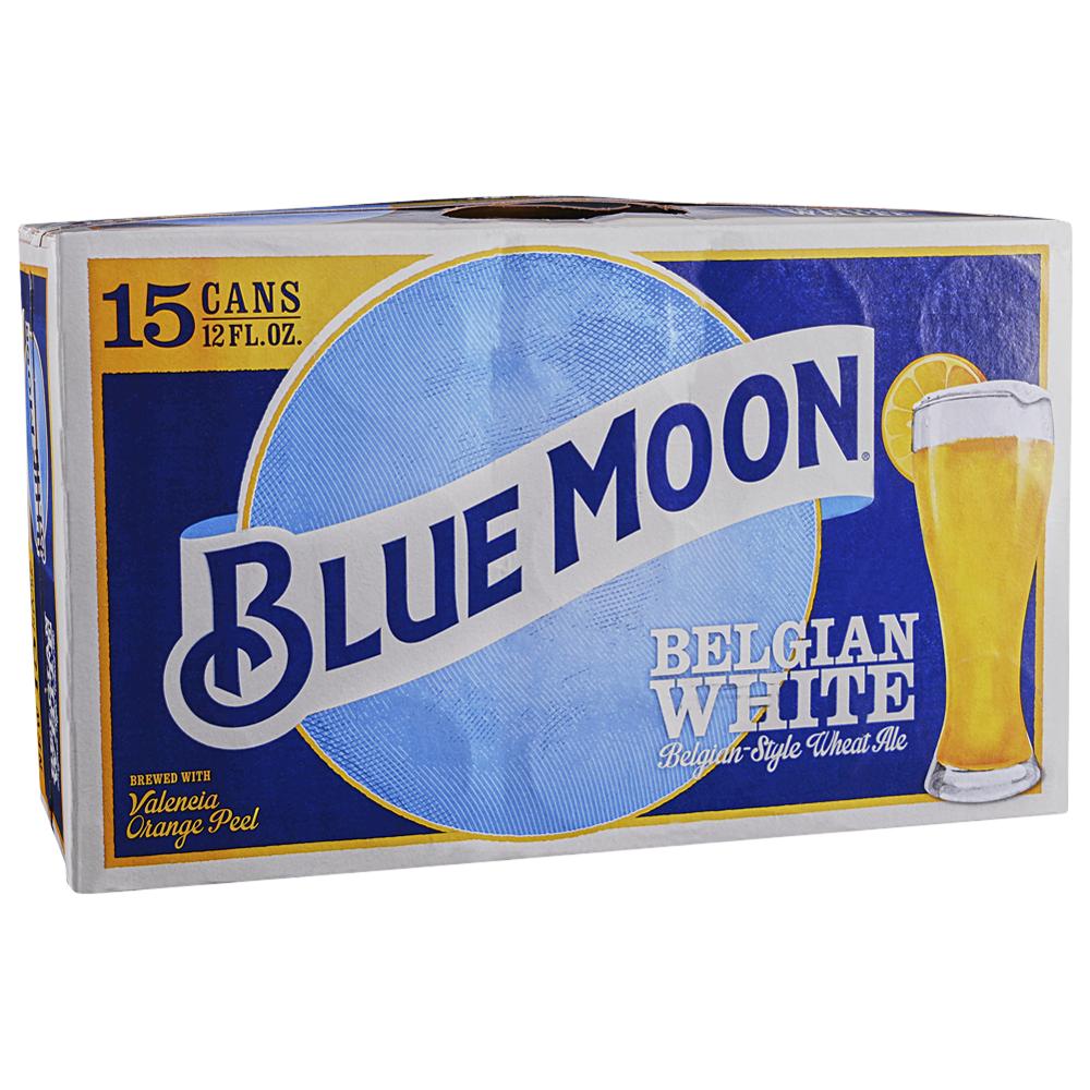 Blue Moon Belgian White 15pk 12 oz Cans