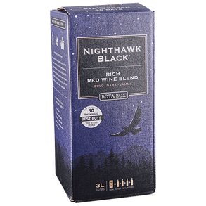 Bota Box Red Wine Blend Nighthawk Black Box 3.0 L