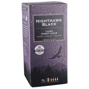 Bota Box Lush Pinot Noir Nighthawk Black Box 3.0 L