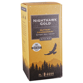 Bota Box Buttery Chardonnay Nighthawk Gold Box 3.0 L