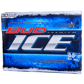 Bud Ice 30pk 12 oz Cans