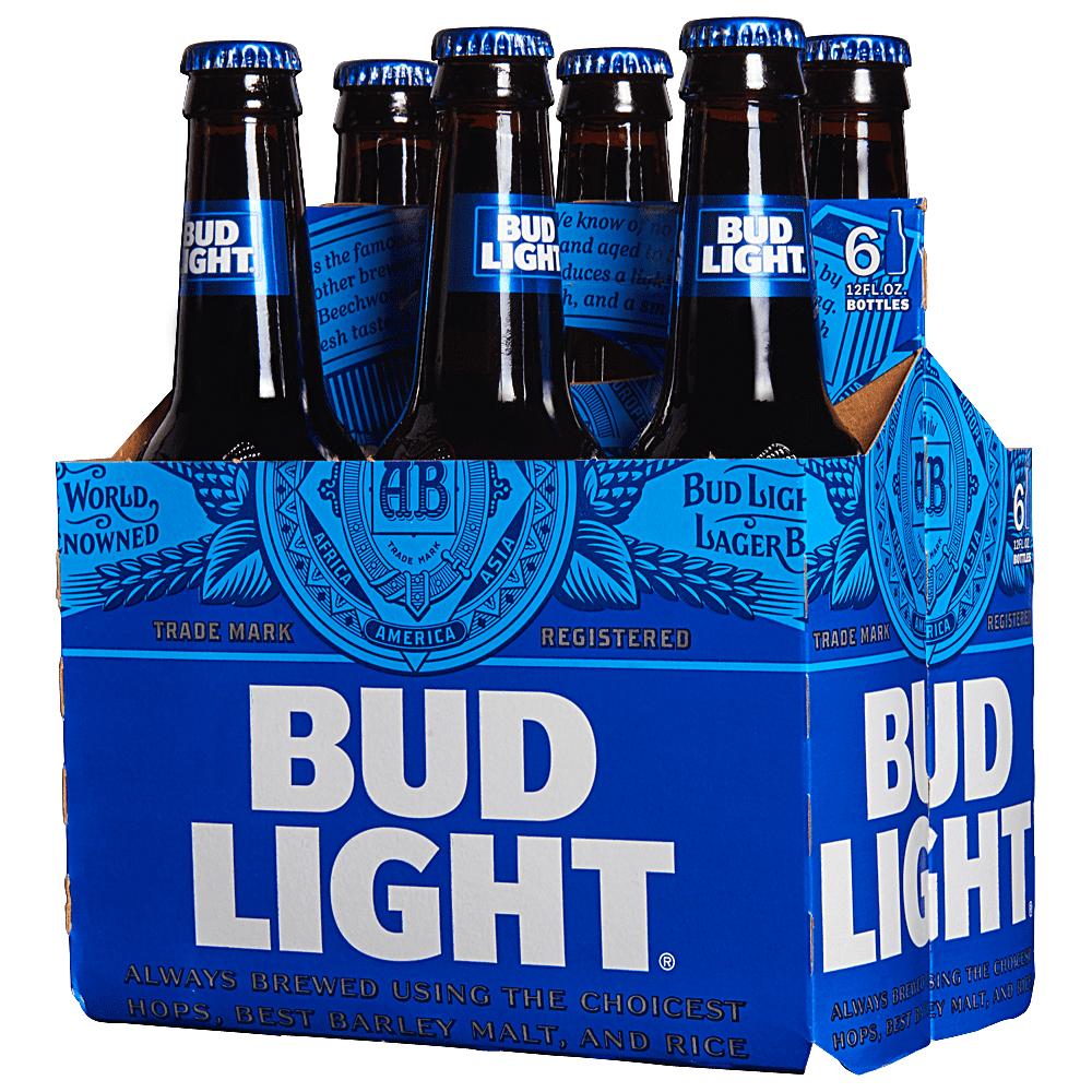 bud light 12 oz btls