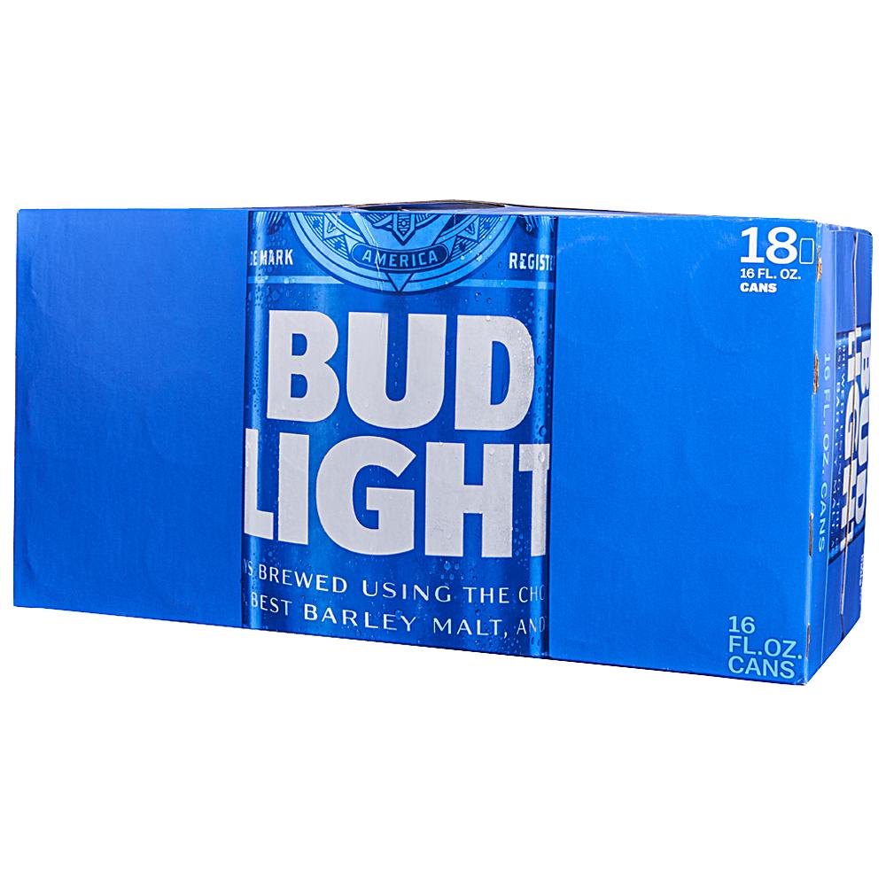 Bud Light 18pk 16 oz Cans