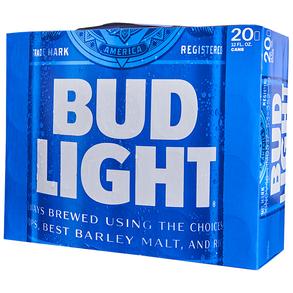 Bud Light 20pk 12 oz Cans