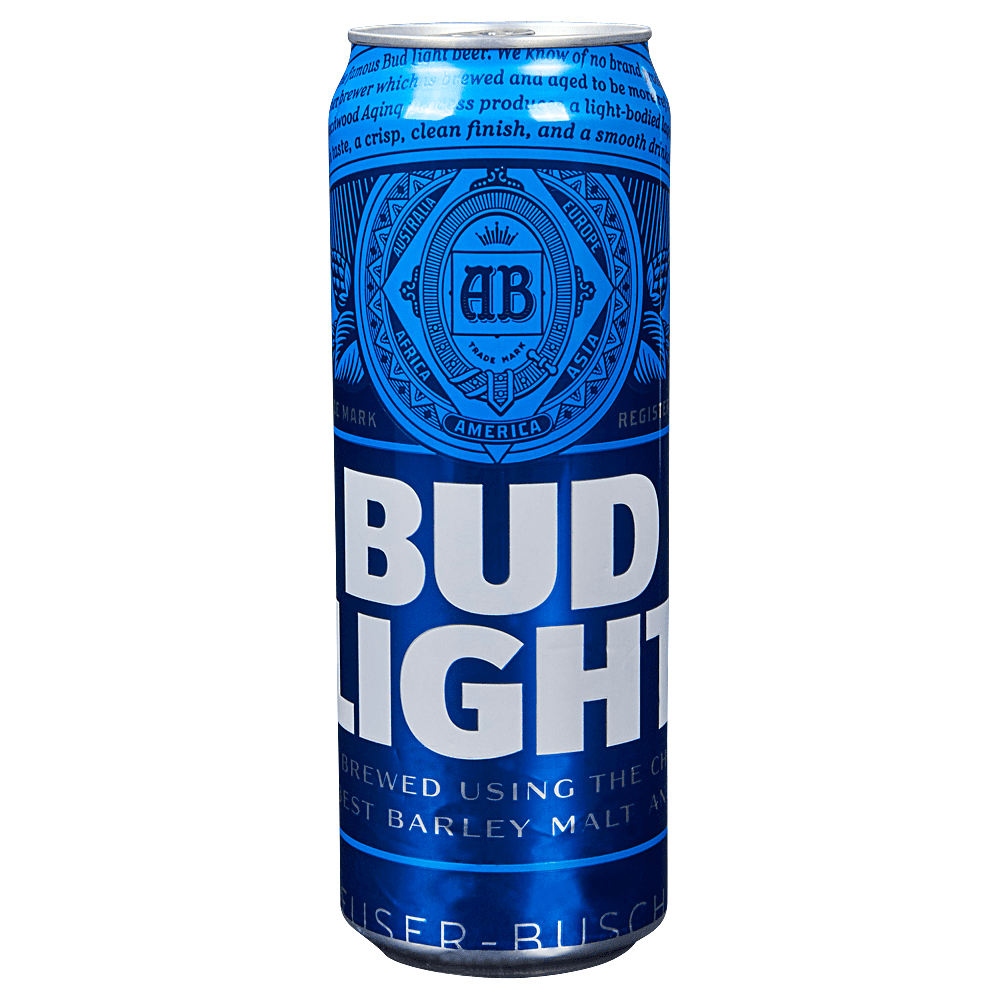 Applejack Bud Light 25 Oz Cans
