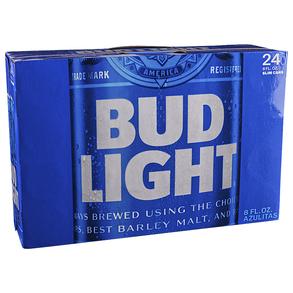 Bud Light 8 oz 24pk Cans