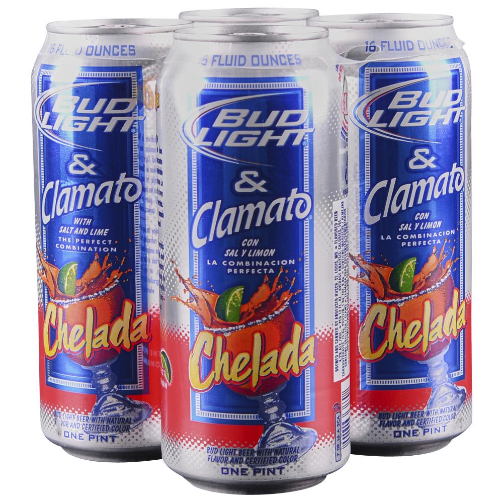 applejack bud light chelada 4pk 16 oz cans