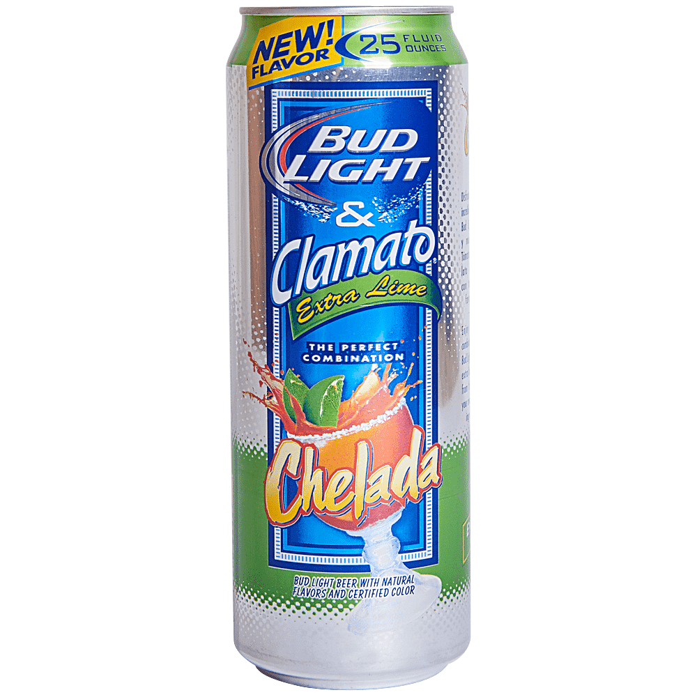 Bud Light Extra Lime Chelada 25 Oz Can