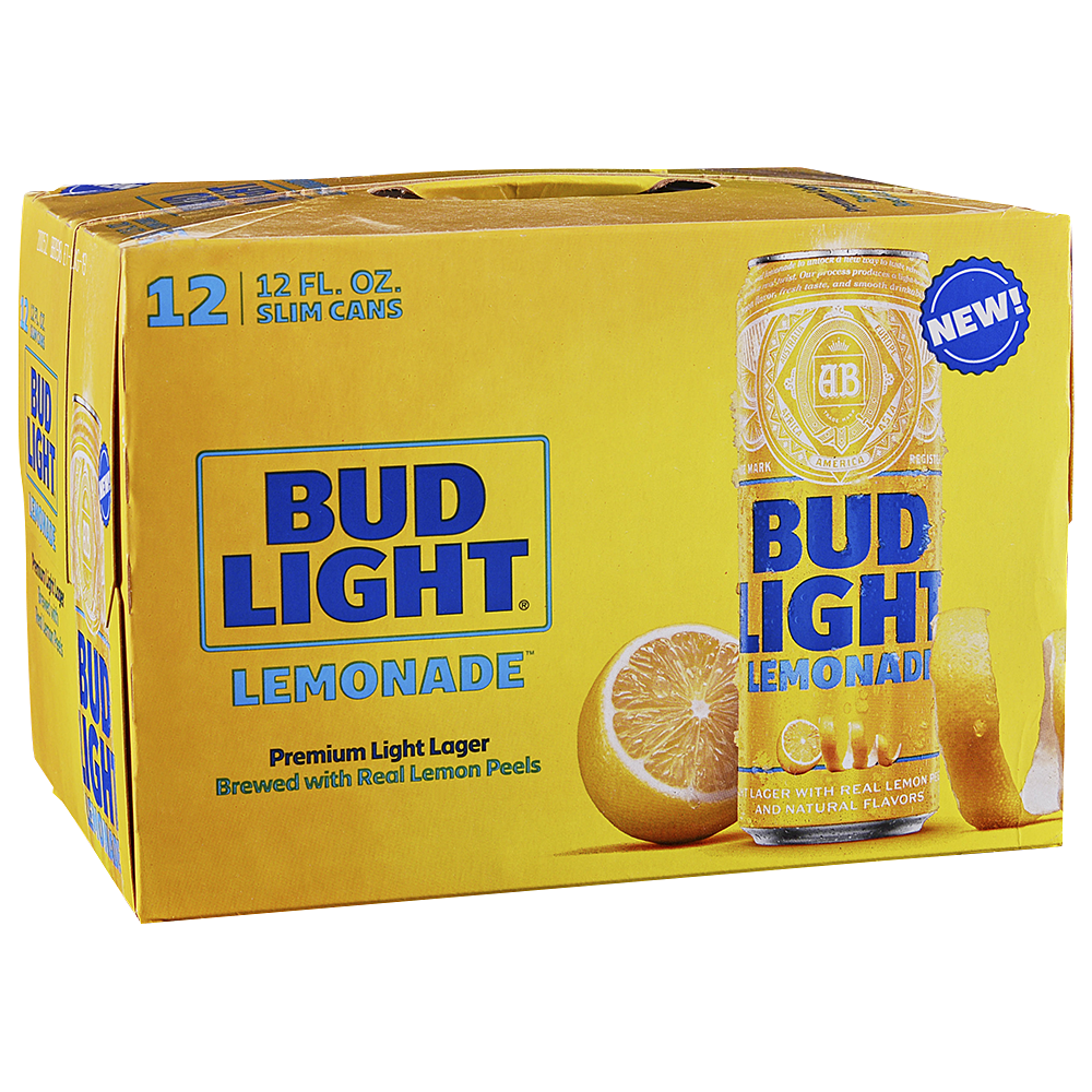 Bud Light Lemonade 12pk 12 oz Cans - Applejack