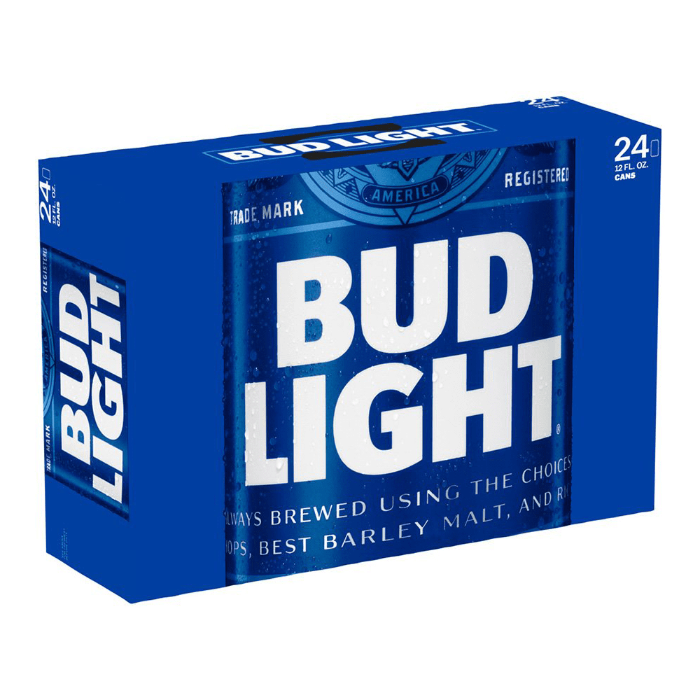 Bud Light Suitcase 24pk 12 oz Cans