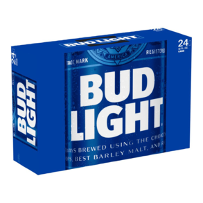 Bud Light Suitcase 24pk 12 oz Cans