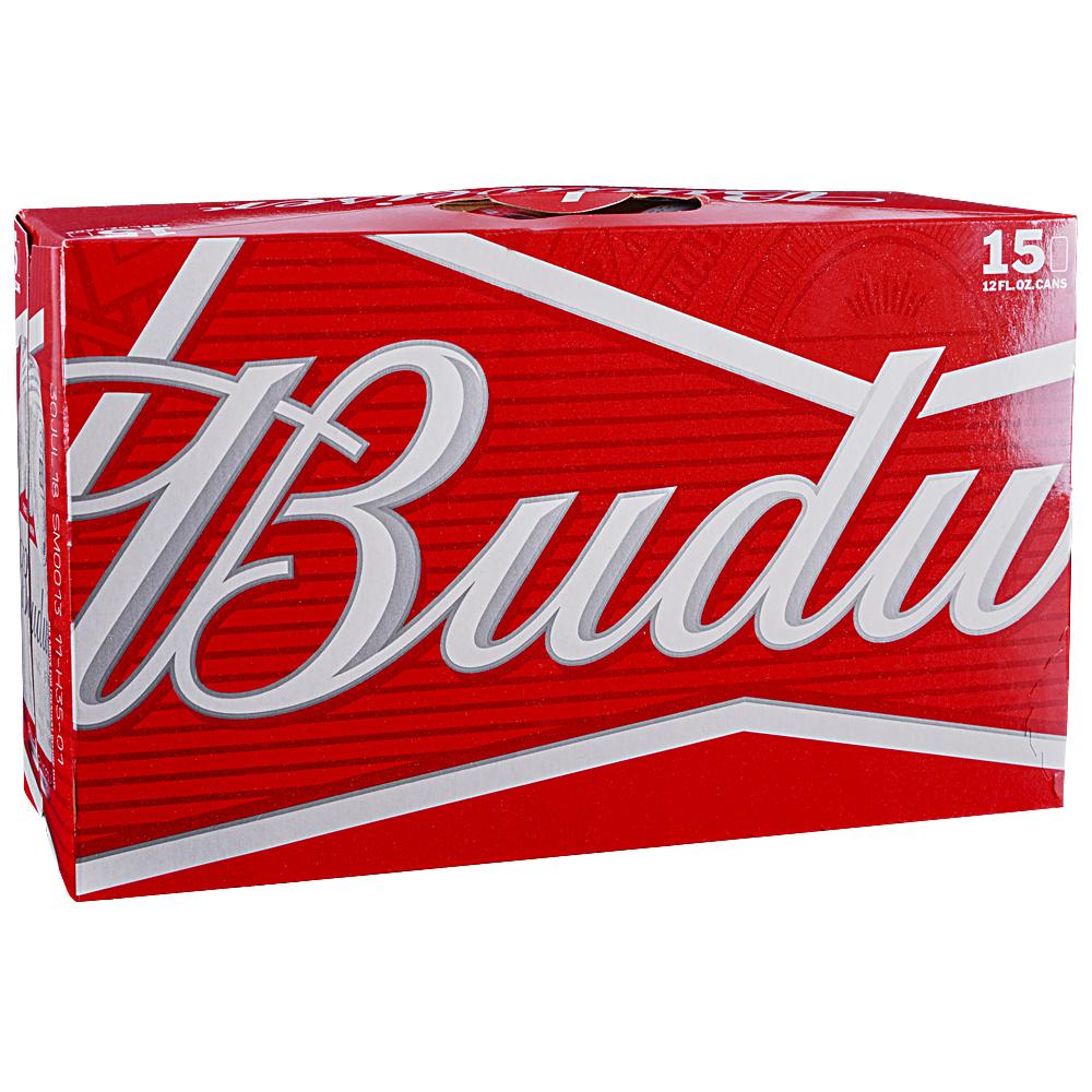 Budweiser 15pk 12 oz Cans