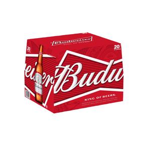 Budweiser 20pk 12 oz Bottles