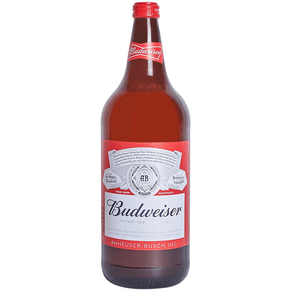 Applejack Budweiser 40 Oz Btl