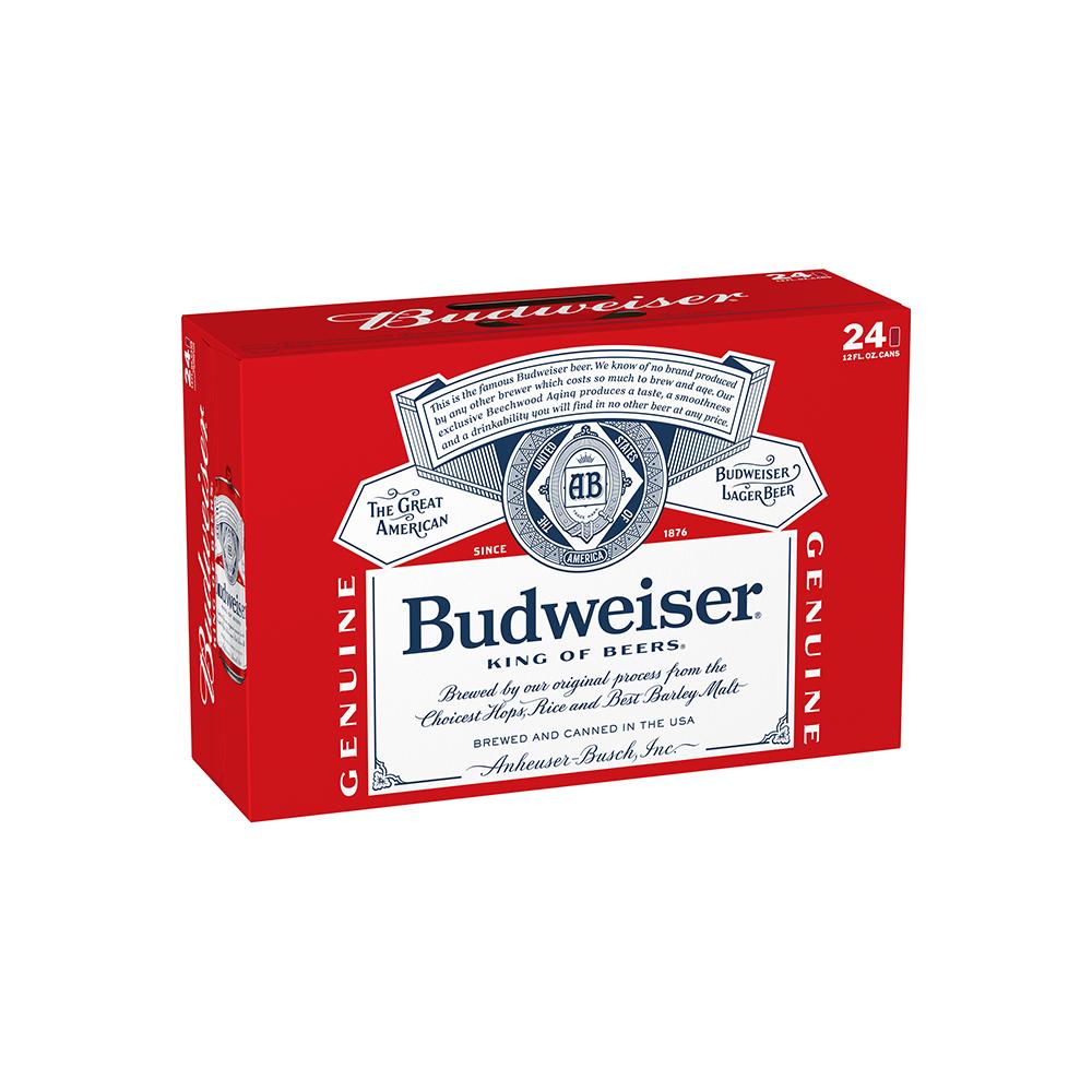 Budweiser Suitcase 24pk 12 oz Cans