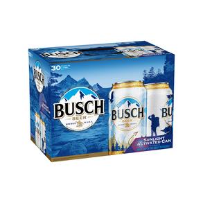 Busch 30pk 12 oz Cans