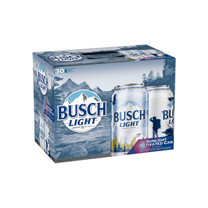 Busch Light 30pk 12 oz Cans