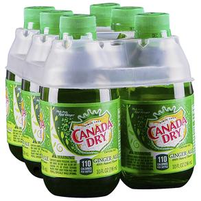 Canada Dry Ginger Ale 6pk 10 oz Bottles