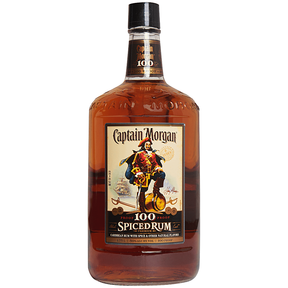 Applejack Captain Morgan 100 Proof Rum