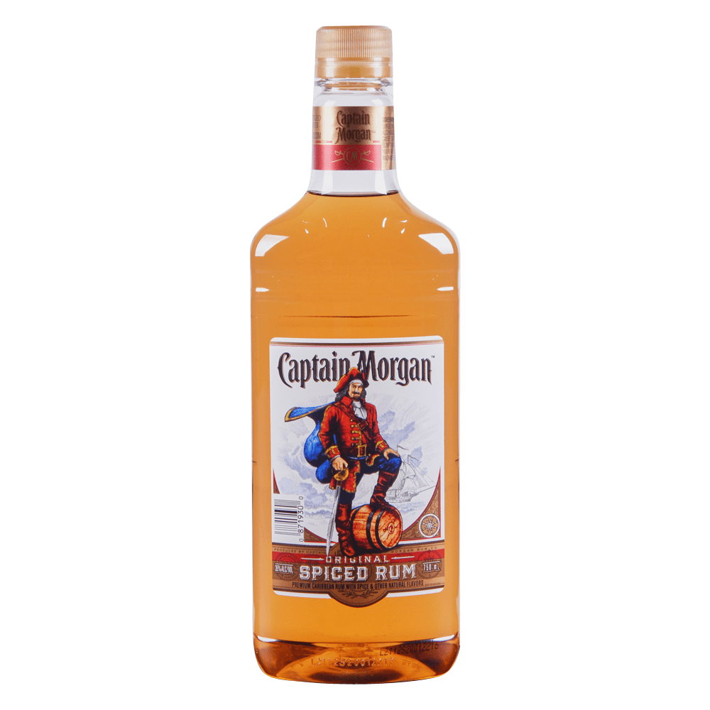 Captain Morgan Spiced Rum 750 Ml Plastic Bottle