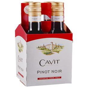 Cavit Pinot Noir 4 pack 187 ml