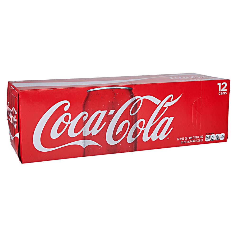 Coke Classic 12 Pk 12 oz Cans