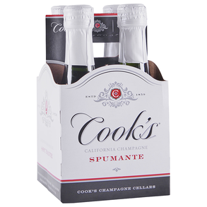 Cooks Spumante 4 pack 187 ml