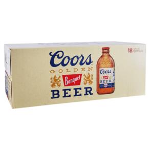 Coors Banquet 18pk 12 oz Bottles