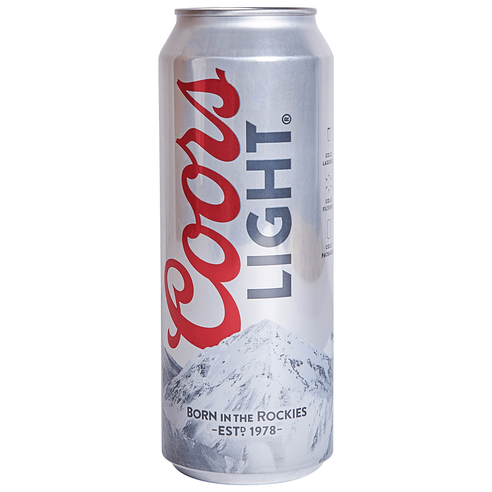 Applejack Coors Light 24 Oz Cans