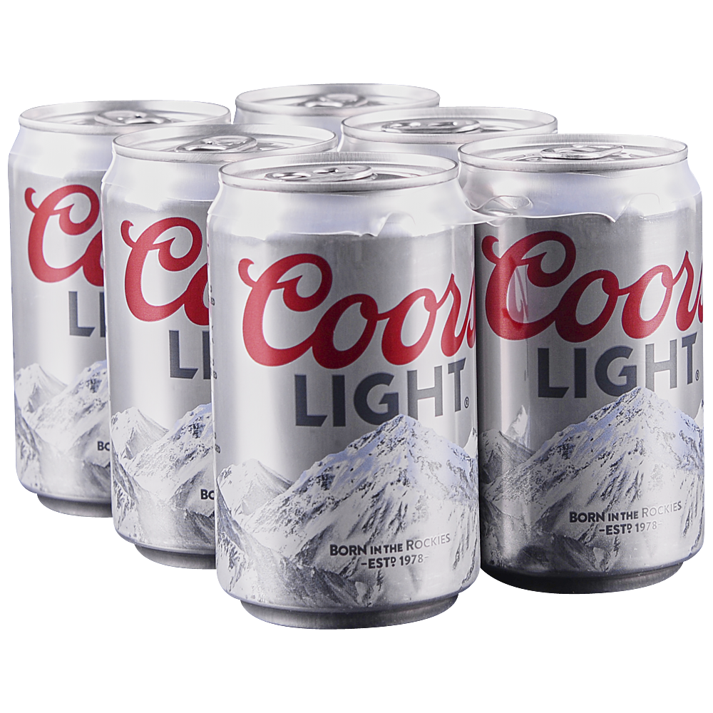 applejack coors light 6pk 8 oz cans