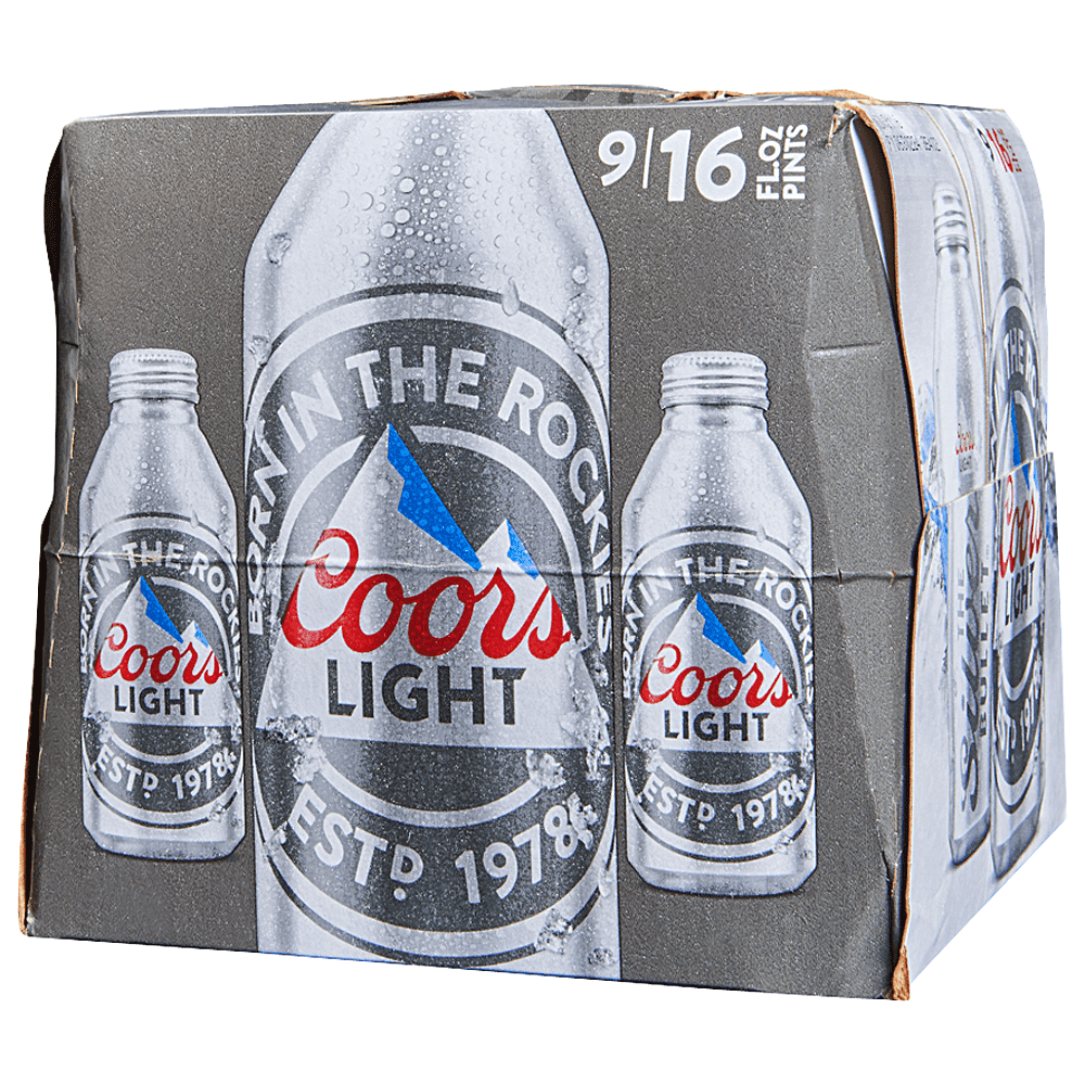 Applejack Coors Light Alum 9pk 16 Oz Btls